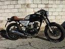 Hanway moto 125 e4 black caffe nero sport