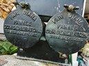 """Antico serbatoio militare per lampade """"Fari Diana"""""""