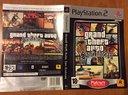 Cover foglio originale GTA San Andreas PS2
