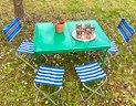 Tavolino e sedie giardino anni 60 - set picnic