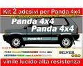 Adesivi PANDA 4x4, PANDA SISLEY, STEYR PUCH, FIAT