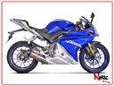 Akrapovic Scarico Completo Yamaha MT125 YZF R125