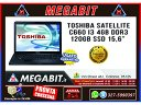 Notebook TOSHIBA SATELLITE C660 15 i3 4GB 120GbSSD