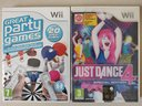 [IDEA REGAL0] Just Dance 4 e Great Party Games WII
