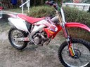 Crf 250 avantreno forcella showa 47 freni mono