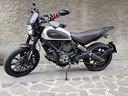 Ducati Scrambler Icon Red Termignoni Rizoma Carbon