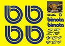 Kit adesivi completo Bimota YB9 SR