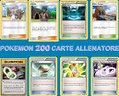 Pokémon GCC: lotto 200 carte Allenatore