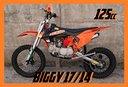 NUOVE Pit Bike 125 / 140 REPLICA KTM REDBULL 17/14
