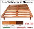Rete per letto in legno massello