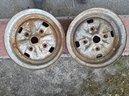 2 cerchi in ferro cmr originali mini cooper