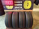 4 Gomme Usate DUNLOP 215 55 17 INVERNALI 80%