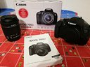 Canon 700D, 18mpx, display touch girevole, FULLHD