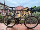 "Bicicletta Vintage MTB Look carbonio 26"" Tg. M"