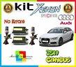 Audi a6 4g c7 dal 2011 kit xenon 35w canbus 6000°k