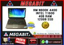 "Notebook RM 15"" NBook 4400 T1600 4Gb RAM 120Gb SSD"