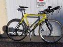 Bici corsa pinarello crono cipollini carboniozonda