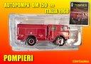 Camion autopompa OM 150 del 1968 Pompieri 1:43