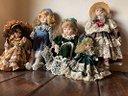 Bambole porcellana SABA