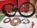 Cerchi motard ktm 125 250 300 350 450 500