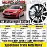 Cerchi In Lega Volkswagen Golf 6 7 A3 18 Con Gomme