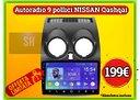 Navigatore tablet ampio display per NISSAN QASHQAI