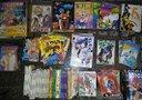 Lotto manga, riviste e art book giapponesi '90