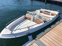 Barca 4.5 metri motore Johnson 25cv