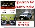 Kit spessori rialzo molle Fiat Panda 2wd
