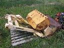 Caricatore pala posteriore idraulica per trattore