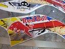 Adesivi quad grafica red bull yamaha daboot