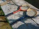 Due racchette da tennis vintage snauwaert spalding