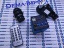 Telecamera completa per microscopio trino