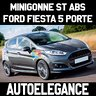 Ford fiesta mk7 2008-2017 5 porte minigonne abs
