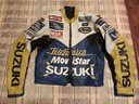 Giacca moto SUZUKI vintage