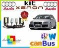Audi a6 c6 4f 04-08 kit xenon 35w canbus 6000k 12v