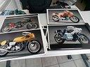 Tavole fotografiche Motociclistiche Harley-Norton-