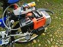 Kit motore a scoppio per bicicletta