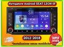 Radio navigatore seat leon 5F 2012-2018