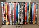 (Box 31 - 32) film dvd ex-noleggio