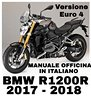 Manuale Officina Italiano BMW R1200R 2017-2018