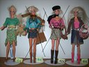Vestiti sportivi ed eleganti di barbie