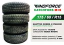 Gomme WINDFORCE 175/60/r15 4 STAGIONI M+S usate