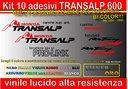 Kit adesivi TRANSALP 600v, TRANSALP 600, HONDA