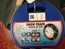 Catene da neve x gomme auto nuove