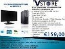 PC i3 QUADCORE 250GB MONITOR 22POLLICI WINDOWS7 10