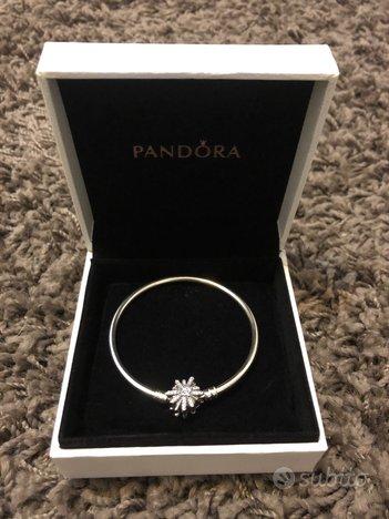 Bracciale Pandora rigido argento