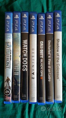 PS4 giochi