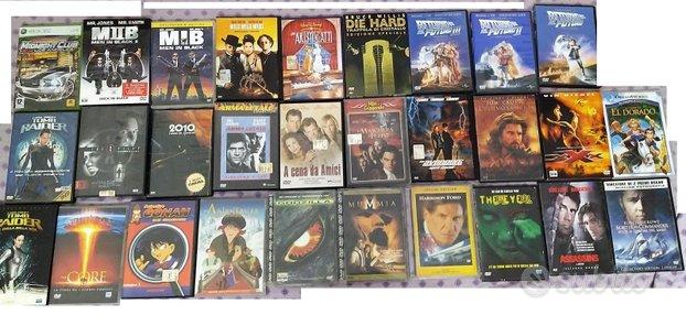 Dvd film vari e gioco