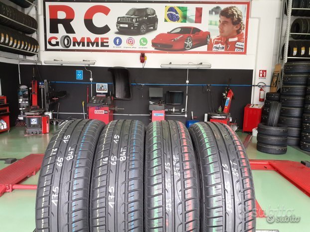 4 Gomme Usate 175 65 15 84T Fulda